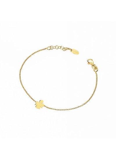 Amen Goudverguld armbandje met engel uit de collectie van Amen (Brag3)