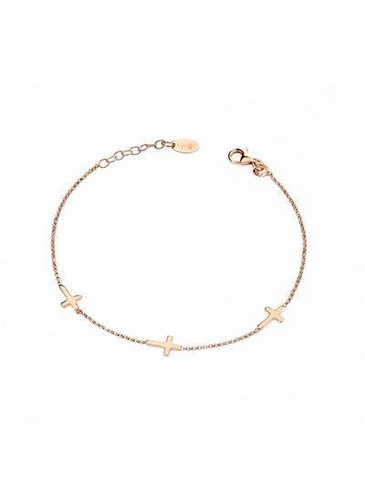 Amen rosegouden armband in Sterling zilver 925 uit de collectie van Amen