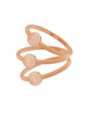iXXXi Jewelry iXXXi Alfabet Ring Rose A-Z
