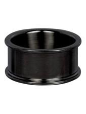 iXXXi Jewelry iXXXi Basis Ring 10 mm Zwart – R7201-5