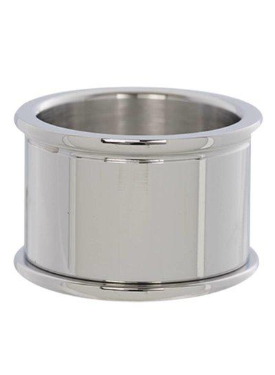 iXXXi Jewelry iXXXi Basis Ring 14 mm Zilver - R7501-3