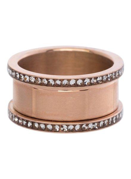 iXXXi Jewelry iXXXi Basis Ring 10 mm Rose Zirconia – R7001-2