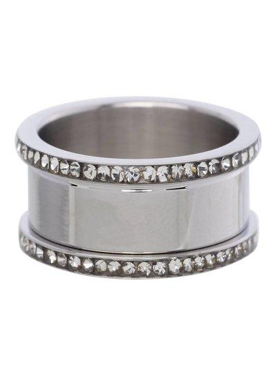 iXXXi Jewelry iXXXi Basis Ring 10 mm Zilver Zirconia – R7001-3