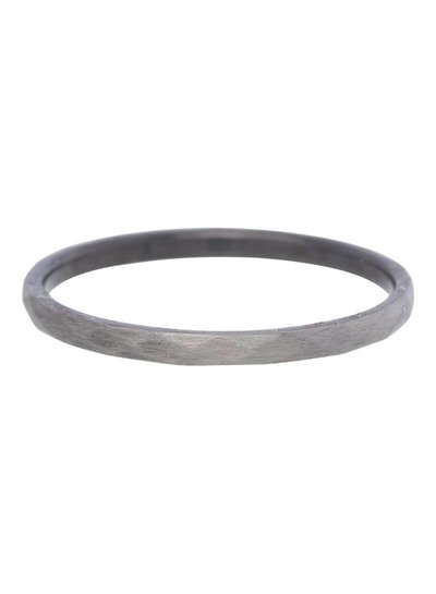 iXXXi Jewelry iXXXi Ring 2 mm Hammerite Antique Zilver – R2803-7