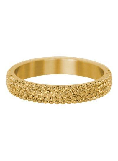 iXXXi Jewelry iXXXi Ring 4 mm Kaviaar Goud – R3801-1
