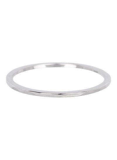 iXXXi Jewelry iXXXi 1 mm Ring Wave Zilver - R3901-3