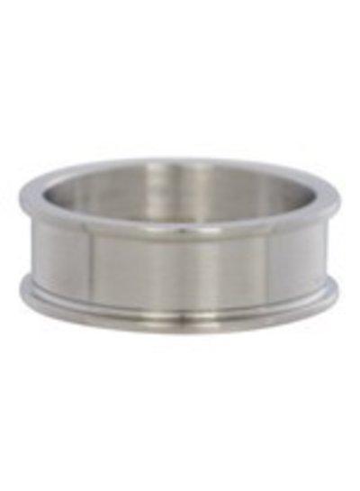 iXXXi Jewelry iXXXi Heren Basis Ring 8 mm Mat Zilver – R9001-4