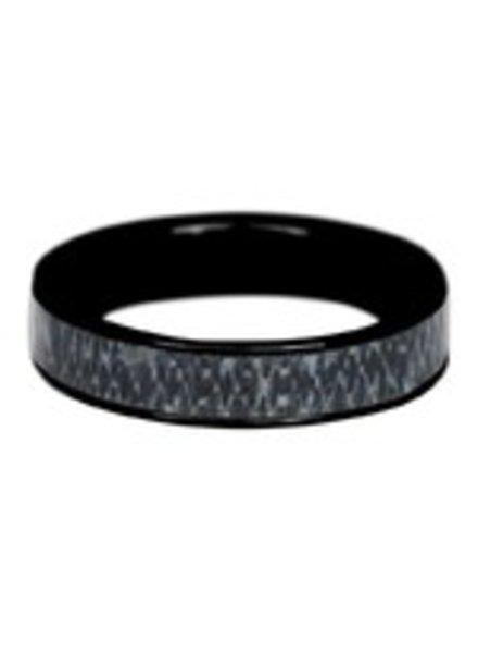 iXXXi Jewelry iXXXi Heren Ring Jeans Zwart – R9301-5