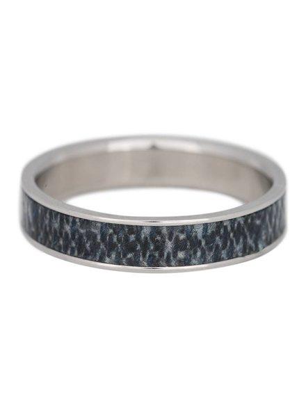 iXXXi Jewelry iXXXi Heren Ring Jeans Mat Zilver– R9301-4