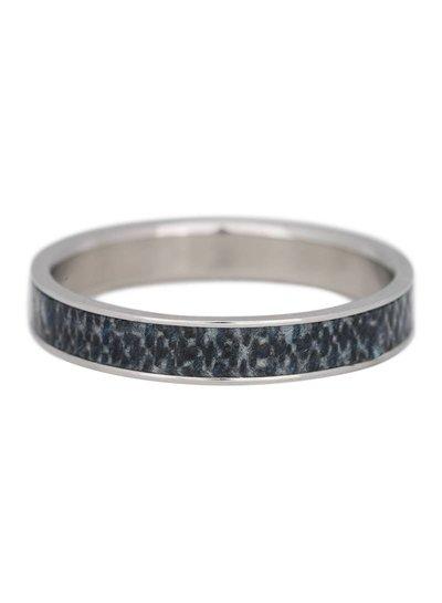 iXXXi Jewelry iXXXi Ring 4 mm Jeans Zilver – R3203-3
