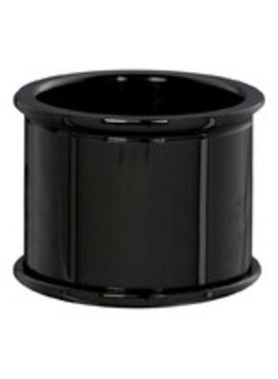 iXXXi Jewelry iXXXi Basis Ring 16 mm Zwart – R7601-5