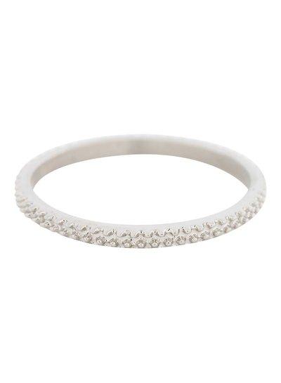 iXXXi Jewelry iXXXi Ring 2 mm Kaviaar Zilver – R2806-3