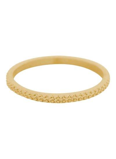 iXXXi Jewelry iXXXi Ring 2 mm Kaviaar Goud – R2806-1