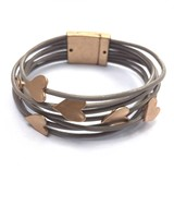 Biba armband met hartjes