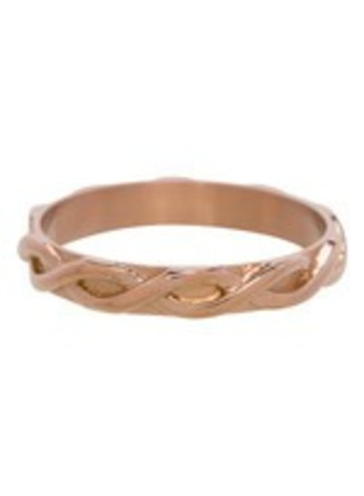 iXXXi Jewelry iXXXi Ring 4 mm Braided Rose – R3202-2