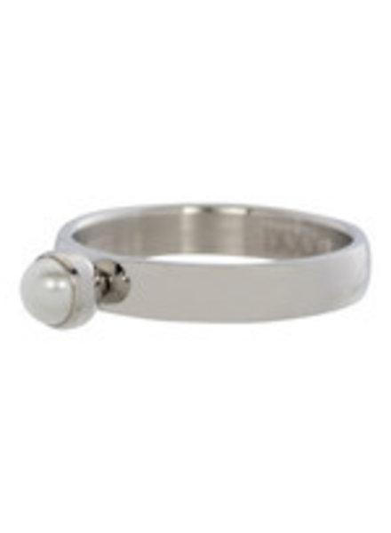 iXXXi Jewelry iXXXi Ring 1 Parel Zilver – R3107-3