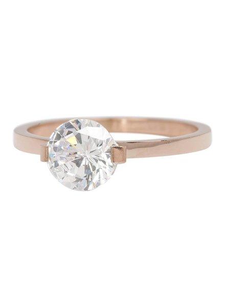 iXXXi Jewelry iXXXi Ring Glamour Stone Rose – R4201-2