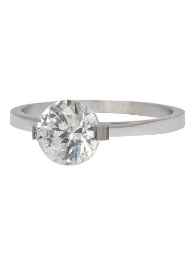 iXXXi Jewelry iXXXi Ring 2 mm Glamour Stone Zilver – R4201-3
