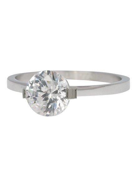 iXXXi Jewelry iXXXi Ring Glamour Stone Zilver – R4201-3