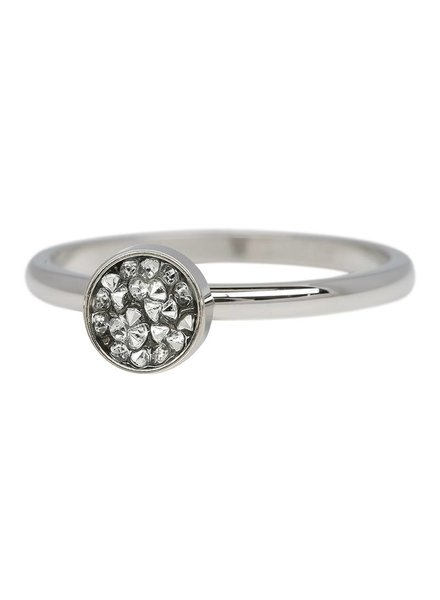 iXXXi Jewelry iXXXi Ring Cup Stones Zilver – R4202-3
