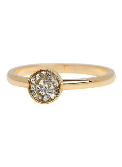 iXXXi Jewelry iXXXi Ring 2 mm Cup Stones Goud – R4202-1
