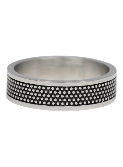 iXXXi Jewelry iXXXi Ring 6 mm Raw dots Zilver – R3205-3