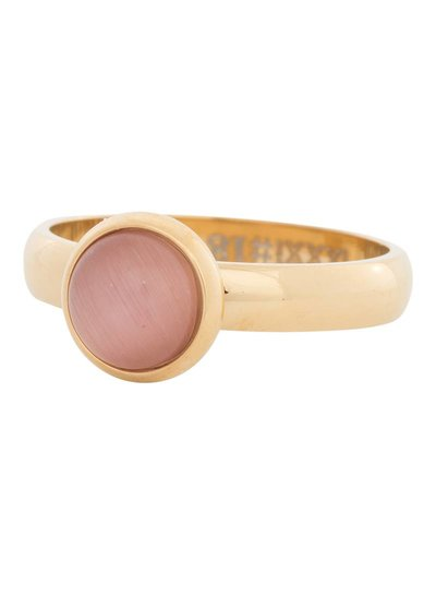 iXXXi Jewelry iXXXi Ring 4 mm  Cat Eye Pink Goud – R4309-1