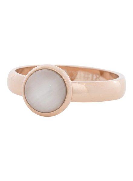 iXXXi Jewelry iXXXi Ring  Cat Eye White  Rose– R4308-2
