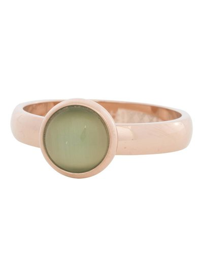 iXXXi Jewelry iXXXi Ring 4 mm  Cat Eye Green  Rose– R4307-2