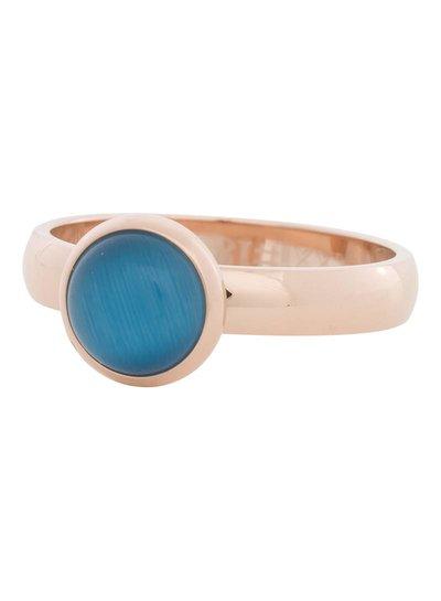 iXXXi Jewelry iXXXi Ring 4 mm  Cat Eye Blue  Rose– R4306-2