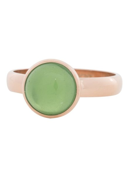 iXXXi Jewelry iXXXi Ring  Green Stone  Rose– R4305-2