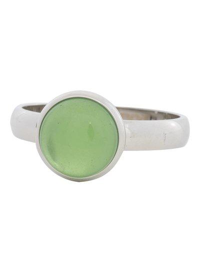iXXXi Jewelry iXXXi Ring 4 mm  Green Stone  Zilver– R4305-3