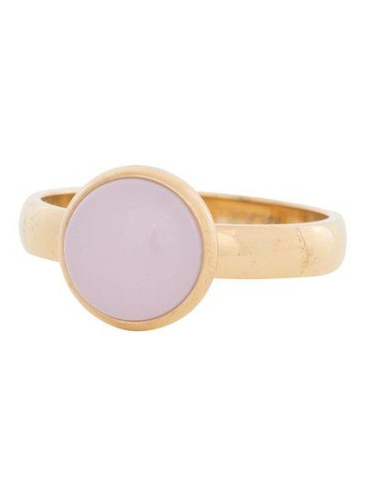 iXXXi Jewelry iXXXi Ring 4 mm  Pink Stone  Goud – R4304-1