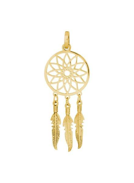 iXXXi Jewelry iXXXi Jewelry Charm dromenvanger goud