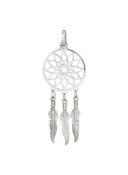 iXXXi Jewelry iXXXi Jewelry Charm dromenvanger zilver