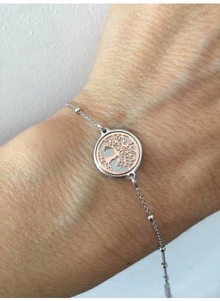 Amen Amen zilveren armband Familytree