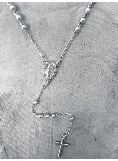 Amen Rozenkrans zilver uit de Classic Collectie van Amen