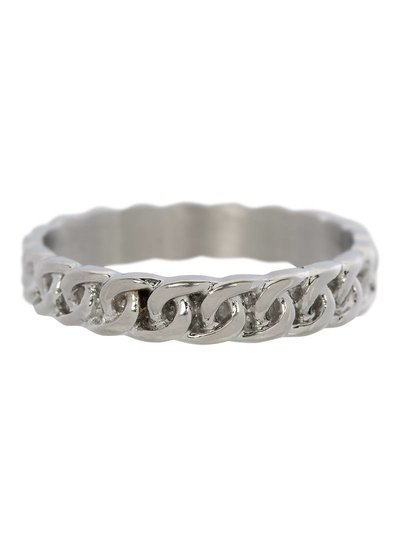 iXXXi Jewelry iXXXi Heren Ring Curb Chain Mat Zilver – R9201-4