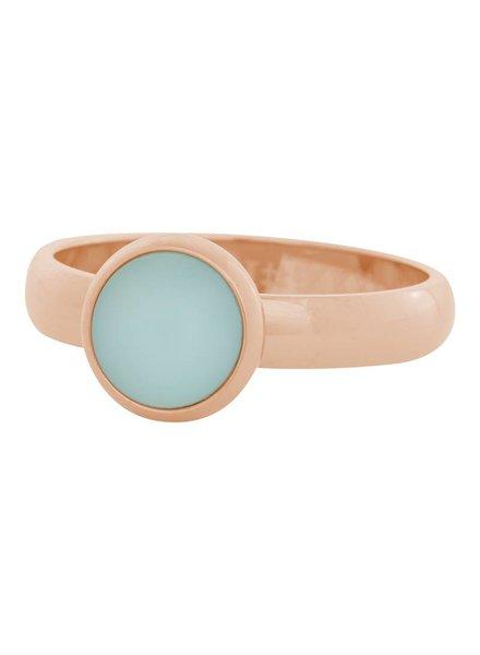 iXXXi Jewelry iXXXi Ring matt green stone Rose– R4311-2