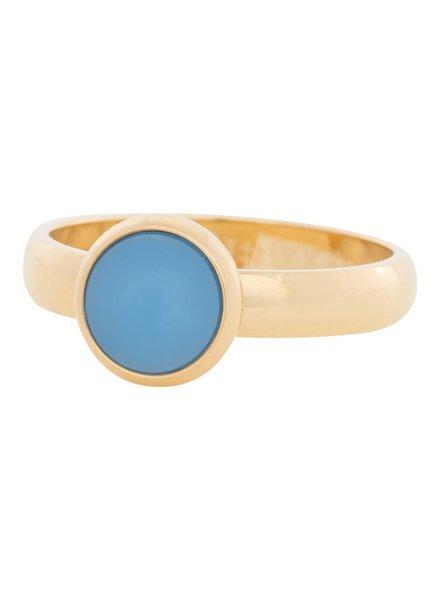 iXXXi Jewelry iXXXi Ring violet stone Goud – R4312-1
