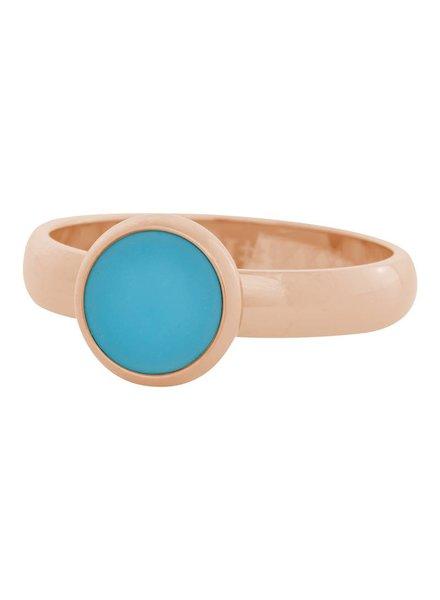 iXXXi Jewelry iXXXi Ring aqua stone Rose– R4313-2