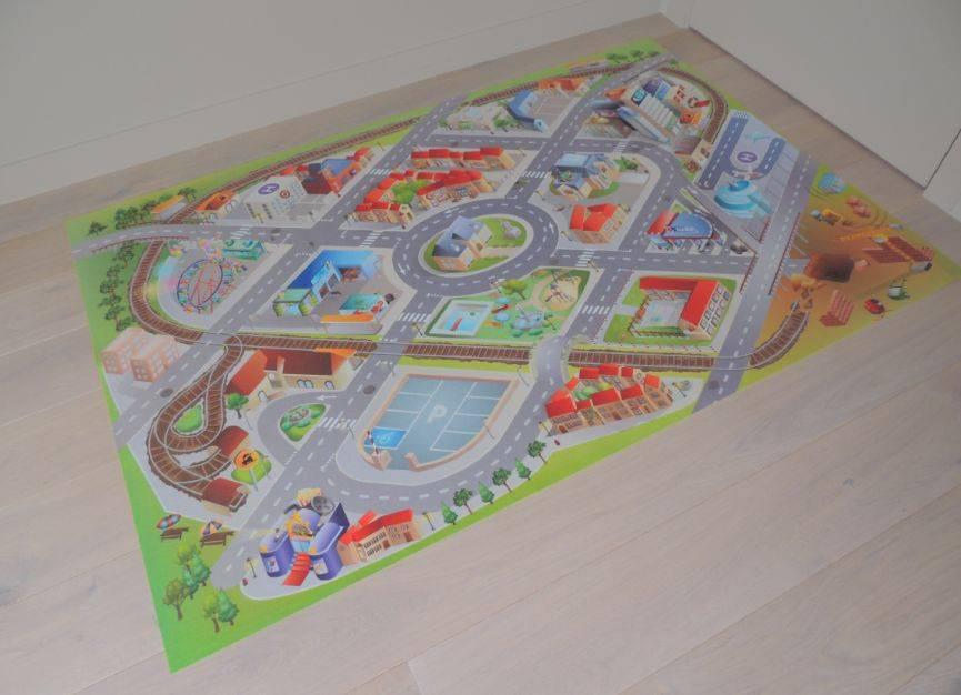 Kinderkamer Belgie : Dit originele en voordelige speelkleed verkeer of ...