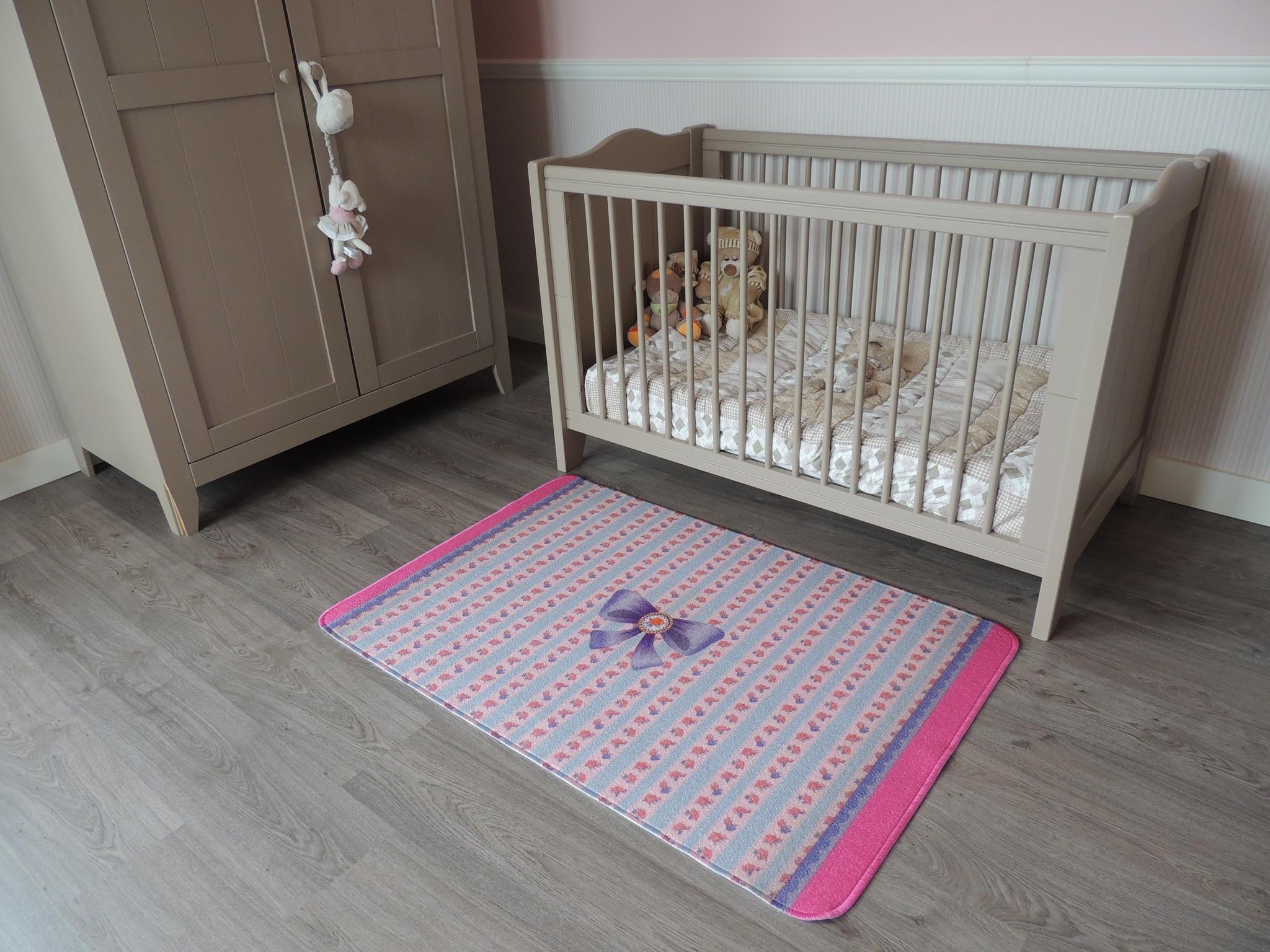 Roze Blauwe Kinderkamers : Onlinespeelkleed mooi vloerkleed babykamer in roze of