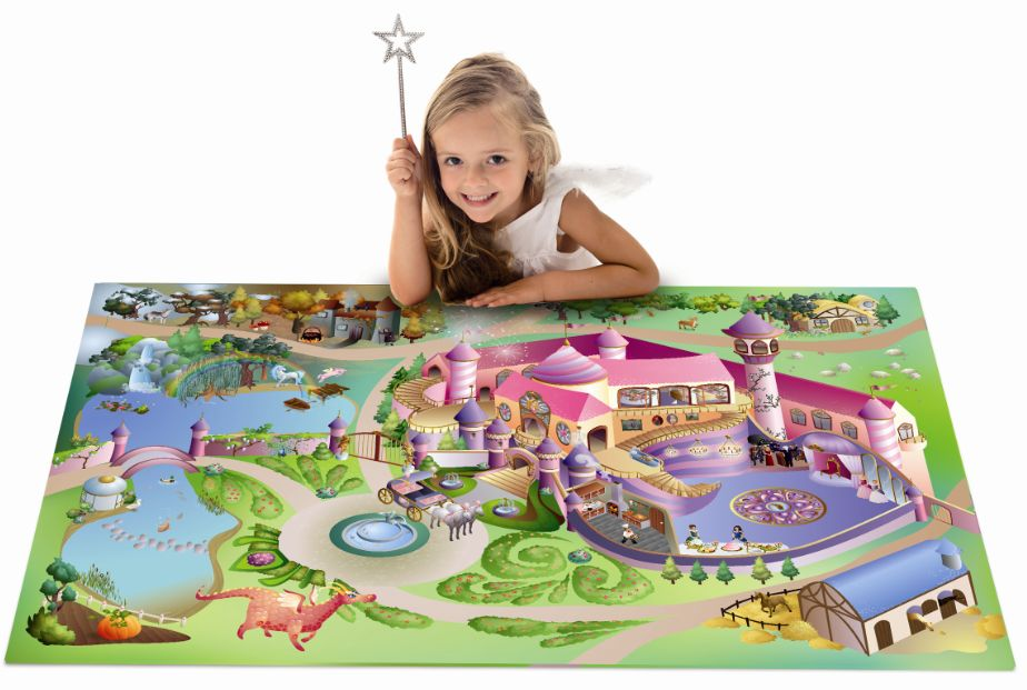 speeltapijt prinsessenkasteel