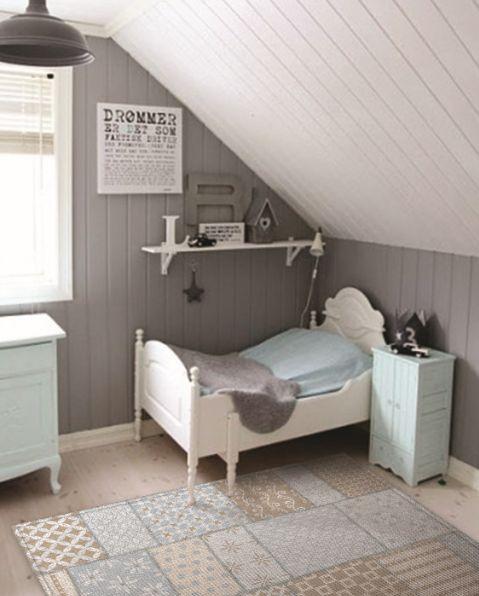 Originele vintage kleden voor de kinderkamer - Nacht kamer decoratie ...