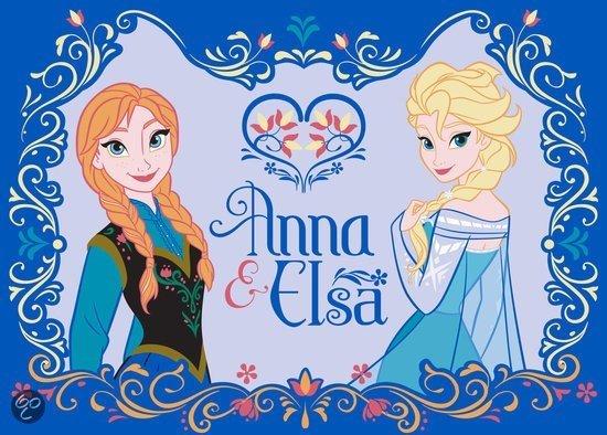 Een Frozen vloerkleed, erg leuk voor de fans!