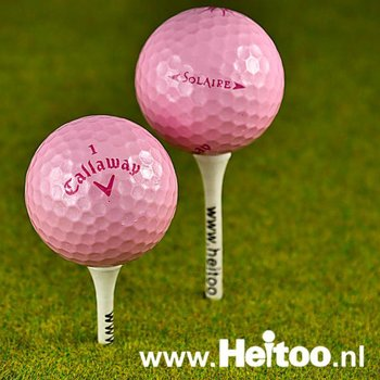Gebruikte Callaway Solaire (roze) AAAA kwaliteit