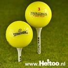 Gele mix golfballen