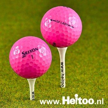Gebruikte Srixon Soft Feel Lady (roze) AAAA kwaliteit