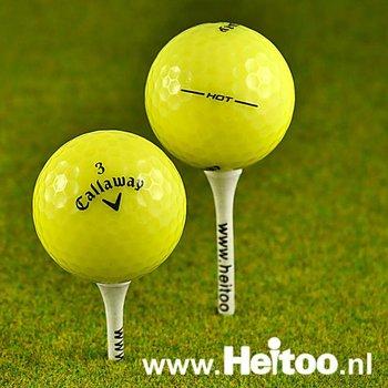 Gebruikte Callaway HEX Hot (geel) 2013/2014 model AAAA kwaliteit
